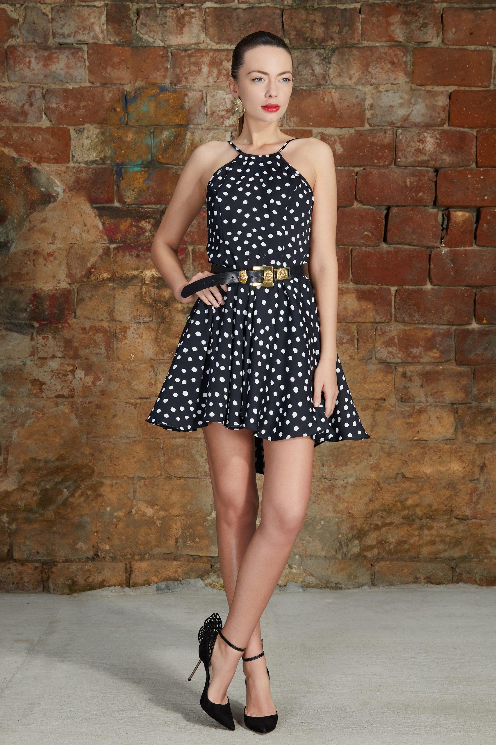 Polka dots Summer dress