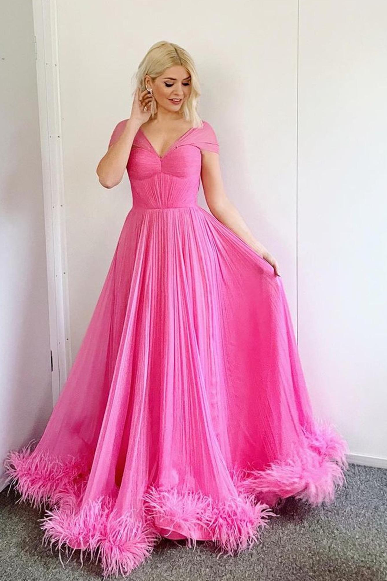 Draped corset romantic gown